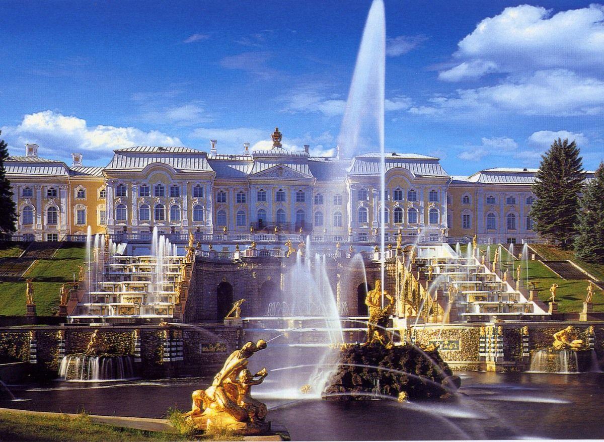 Петергоф фонтаны